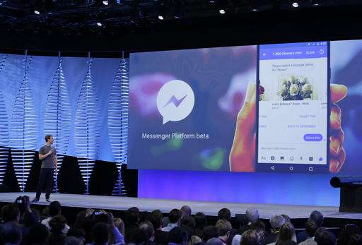 Facebook shows new ways to chat, stream video (Update)