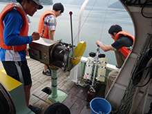 Fish populations revealed through seawater analysis