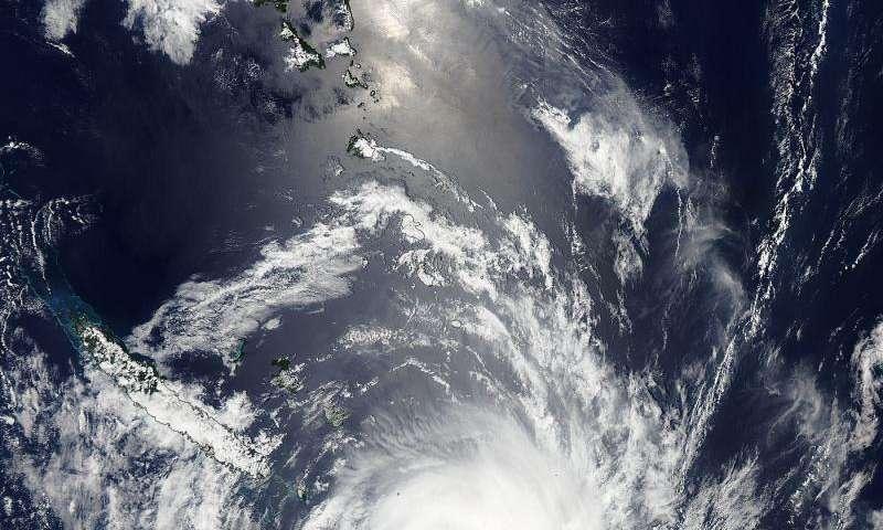 NASA sees Tropical Cyclone Ula's eye closing