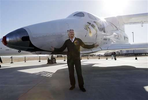 Virgin Galactic to roll out new space tourism rocket plane