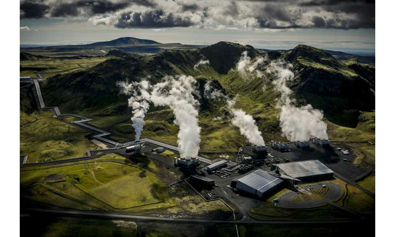 Climate change mitigation: Turning CO2 into rock