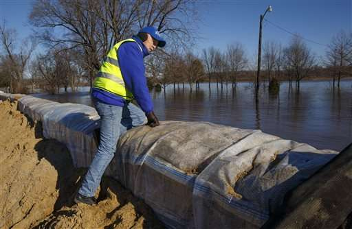 Levees among possible cause of more frequent flooding
