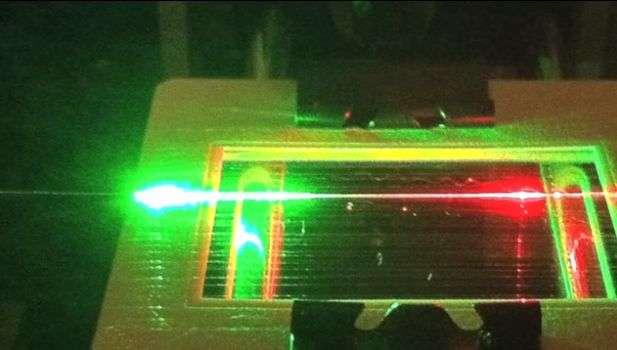 Using spider silk to detect molecules