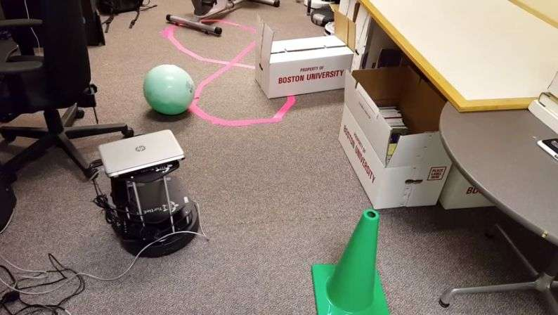 Self-directed robot can identify objects