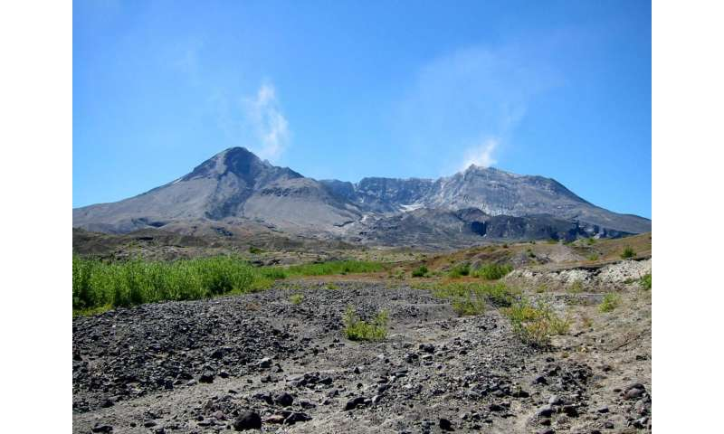 Crystal movement under Mount St. Helens may have indicated 1980 eruption was likely