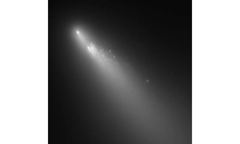 Study Finds Chemical Similarities In Comets (phys.org)
