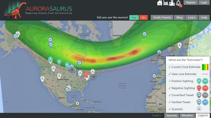 Citizen scientists help NASA researchers understand auroras