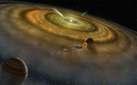 Adding a new dimension to the early chemistry of the solar system