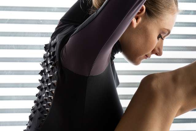 A living, breathing textile aims to enhance athletic performance