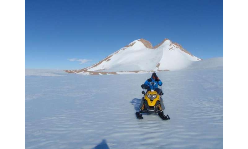 Antarctic personal safety trackers