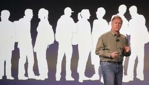 Apple senior vice president of worldwide marketing, Philip Schiller