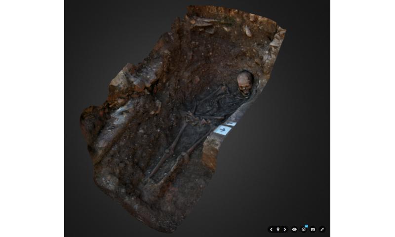 Archaeologists create 3-D interactive digital reconstruction of King Richard III
