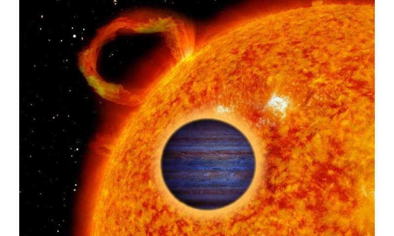 Astronomers detect five new 'hot Jupiters'