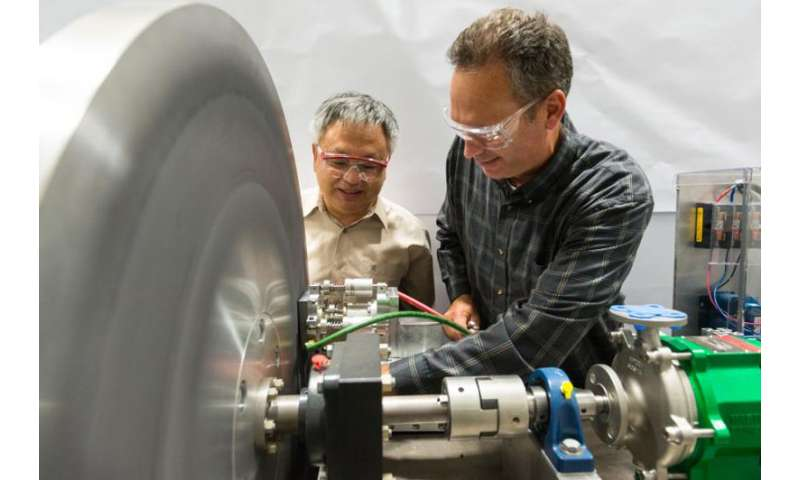 Cooling technique helps researchers 'target' a major component for a new collider. by @physorg_com