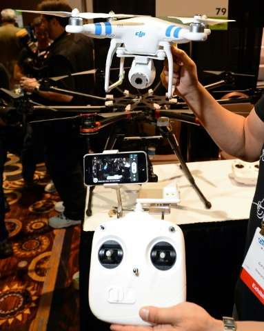 Drones are expected to make a splash at the 2016 Consumer Electronics Show in Las Vegas, where an Unmanned Systems Marketplace h