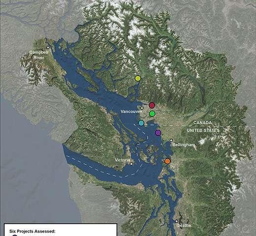 Energy development impacts for the Salish Sea