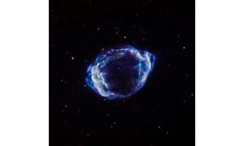 """Identificado o """"gatilho"""" da mais recente supernova descoberta na Via Láctea"""