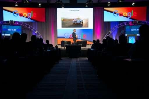 Google's Self Driving Car Project CEO John Krafcik speaks at the Automotive News World Congress in Detroit, Michigan, January 12