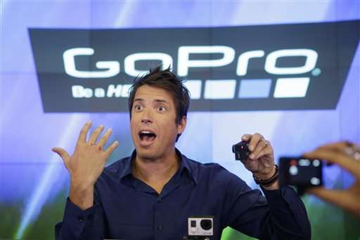 GoPro cutting about 100 jobs after weak 4Q sales