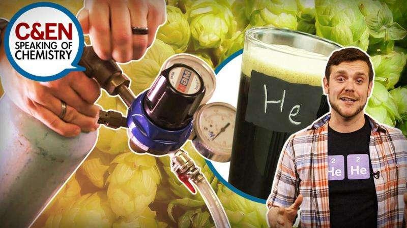 Helium beer: Prank or possible? (video)
