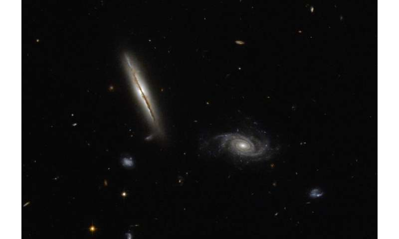Hubble finds misbehaving spiral