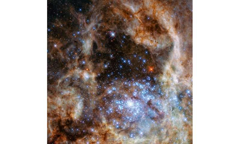 Hubble unveils monster stars