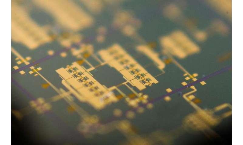 Image: Arralis integrated circuit