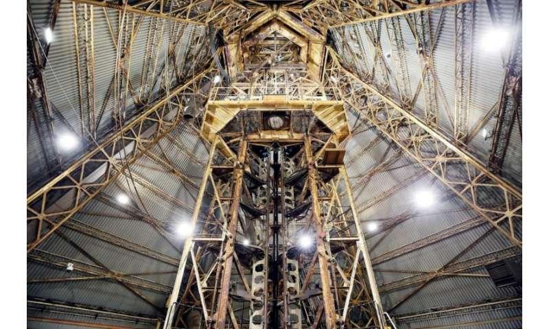Image: Esrange launch tower