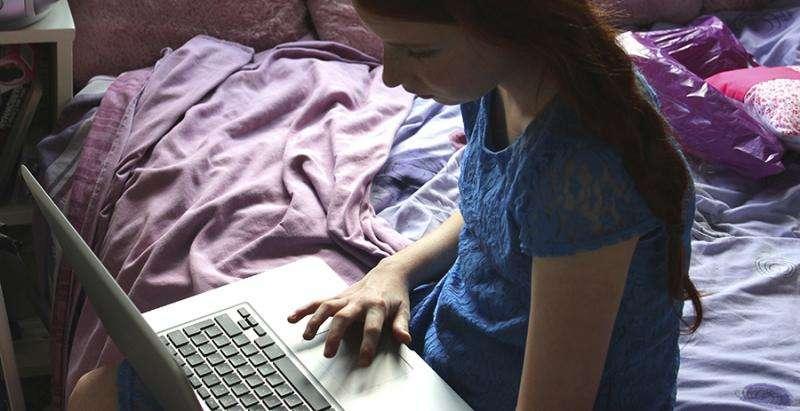 Less than 20% of parents supervise children's online activity