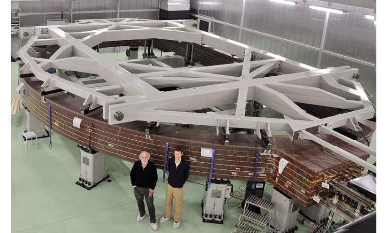 Manufacturing one of the biggest and most complex magnets in history
