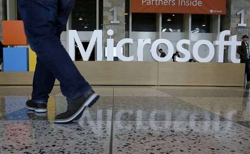 Microsoft results show effects of turnaround strategy
