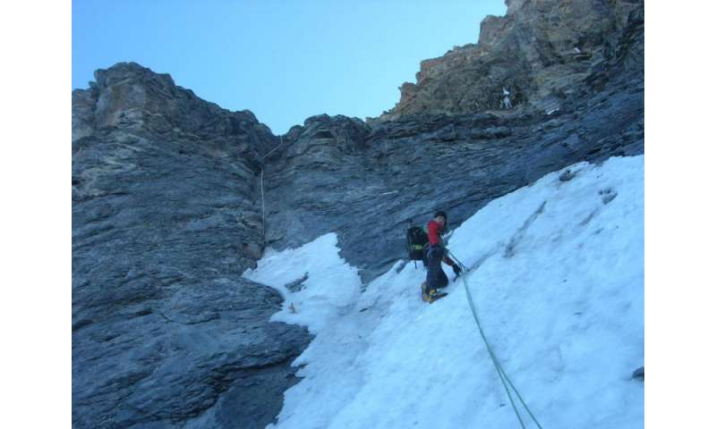 Mountain climbing more dangerous due to climate change
