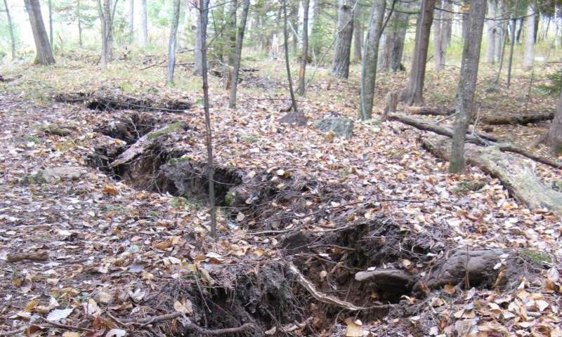 Mysterious menominee crack is unusual geological pop-up feature