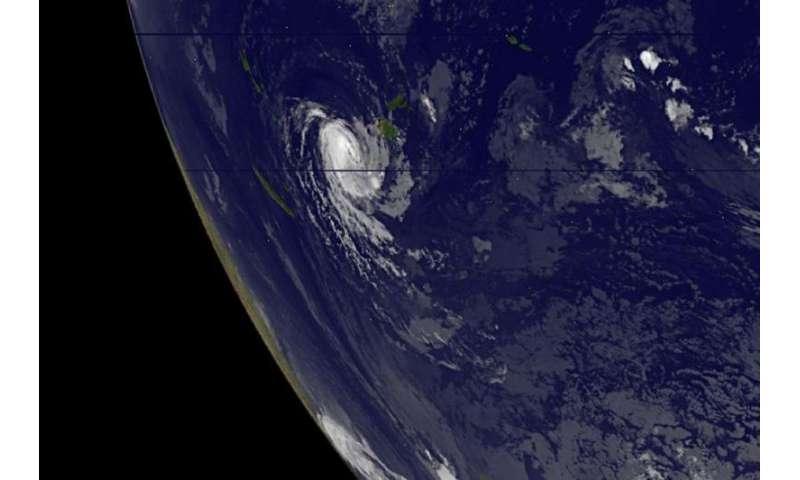 NASA analyzes Tropical Storm Ula's winds
