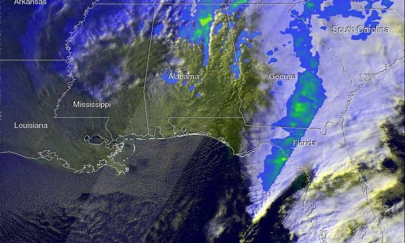 NASA eyes powerful winter storm spreading into mid-Atlantic