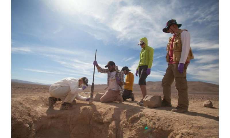 Nasa tests life-detection drill in Earth's driest place