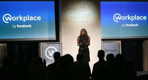 Nicola Mendelsohn, Vice President of EMEA at Facebook, speaks during an event to launch the social media company's latest produc