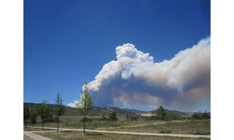 O, no: Ozone levels elevated in presence of wildfire smoke
