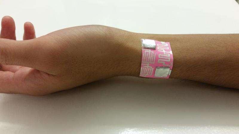 Paper skin sensors for environmental monitoring