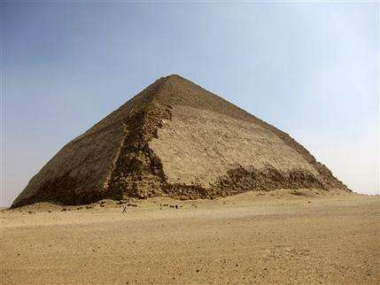 Particles could reveal clues to how Egypt pyramid was built