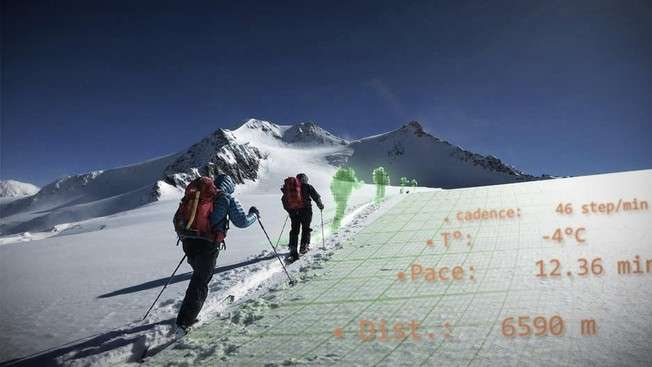 Reaching new heights with connected skis