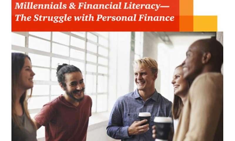 Report shows millennials have high debt and little savings
