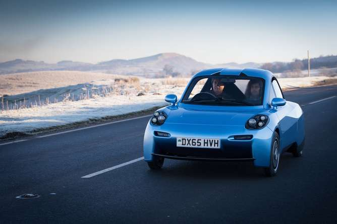 Riversimple's hydrogen fuel cell Rasa gives car design a clean slate