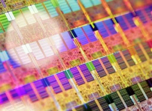 Silicon is currently used to make semiconductor chips