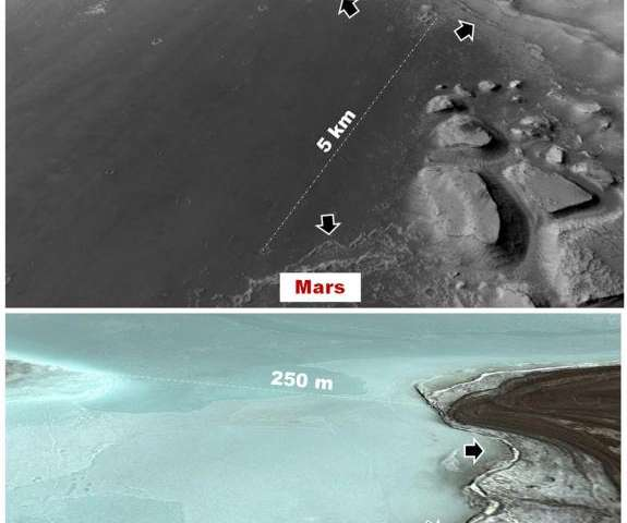 Site of Martian Lakes Might Have Been Linked to Ancient Habitable Environment