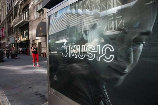 Subscriptions to paid services like Apple Music led to overall revenue growth for the US music industry of 8.1 percent from a ye