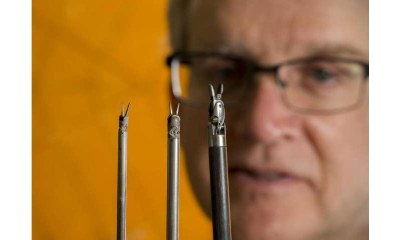 Surgical tools made smaller with origami to make surgery less invasive
