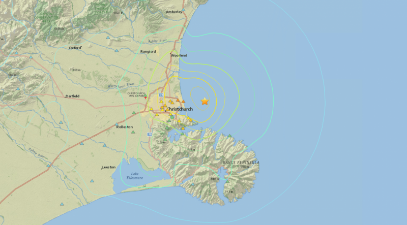 The earthquakes keep on coming for Christchurch