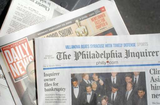 The Philadelphia Inquirer, part of a media group that includes the Philadelphia Daily News and the online site Philly.com, will