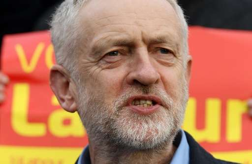 The Twitter account of the leader of Britain's main opposition party, Jeremy Corbyn, appeared to have been hacked after out-of-c